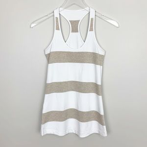 Lululemon | Cool Racerback Tank Top CRB Striped